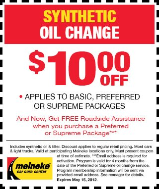 Oil Is Meineke Much Change At An How