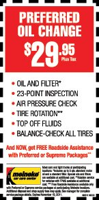 $ Basic Oil Change At Meineke Car Center. At Meineke Car Center get a basic oil change for just $ with this coupon. Essential service at a great price.