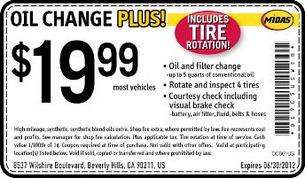 Car inspection coupons