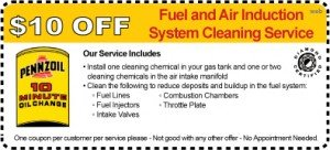 Penn 10 Fuel System Coupon