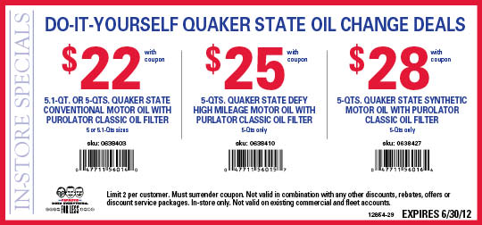 Pep boys coupons june 2012 cheap oil change coupons pep boys diy oil change coupon june 2012 solutioingenieria Images