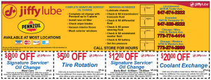 Chicago Jiffy Lube Coupon 2012