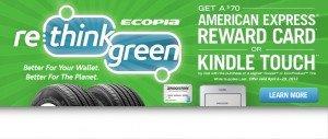 Bridgestone Ecopia Tire Rebate