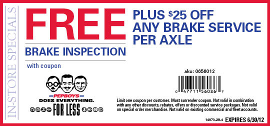 Discount wheel alignment coupon